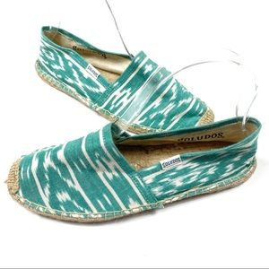 Soludos Cheers to the summer teal espadrilles 7